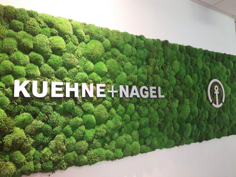 KUEHNE & NAGEL MossArt Logo