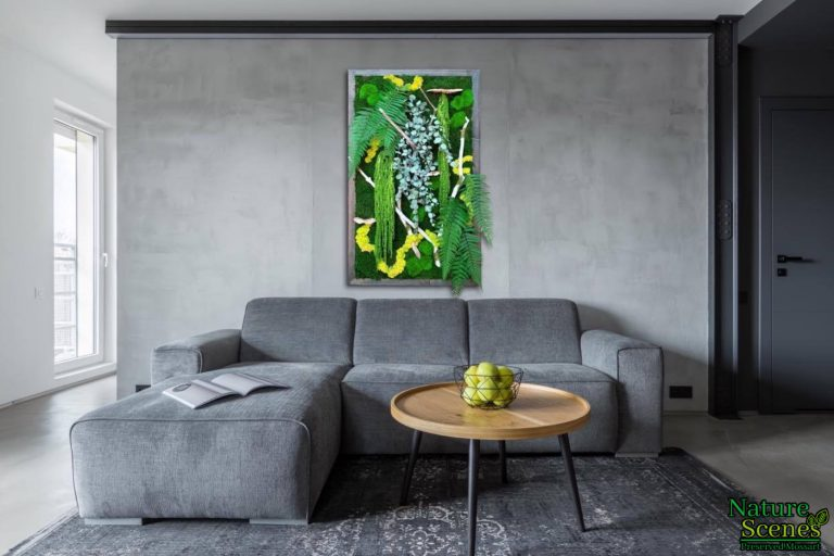 Nature Scenes Grey Living Room Framed Art