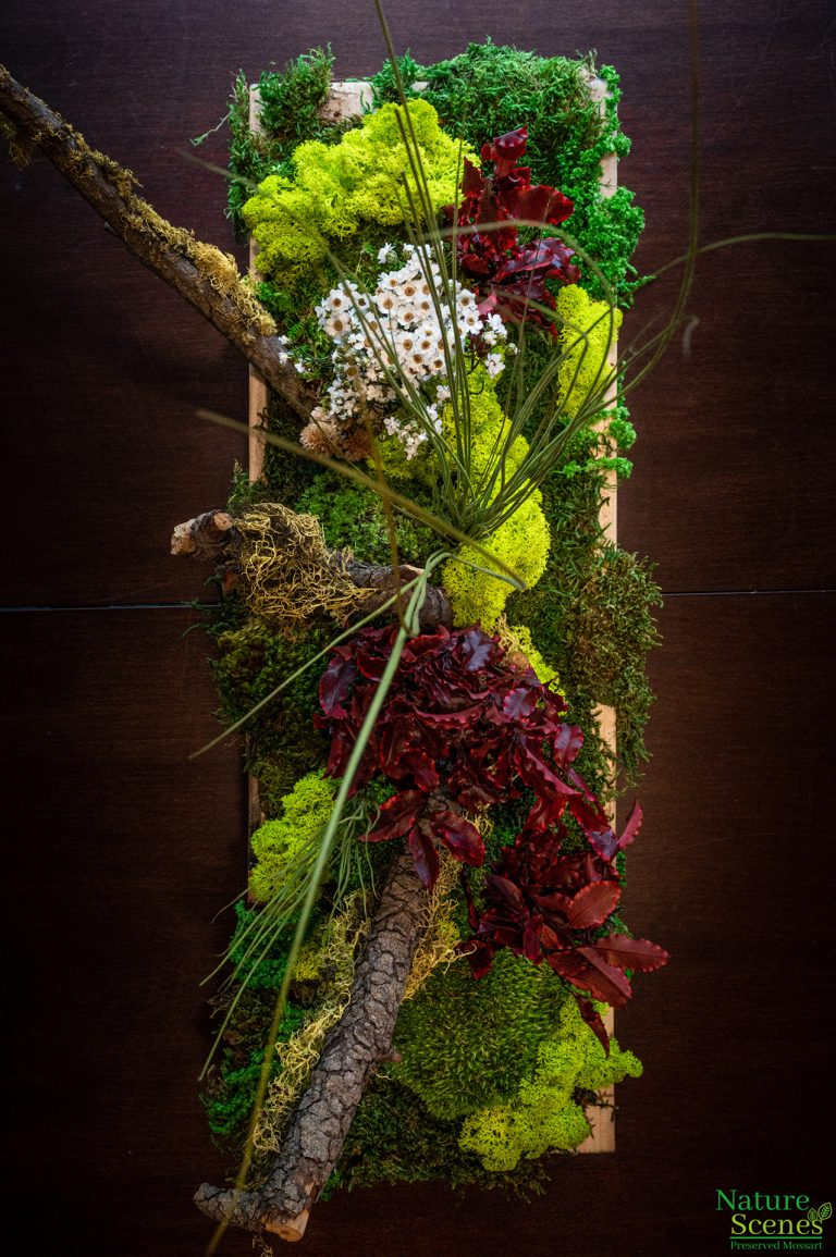 MossArt Wedding Centerpiece